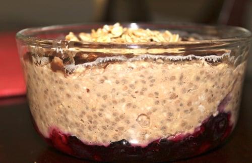 Chocolate Berry Chia Pudding