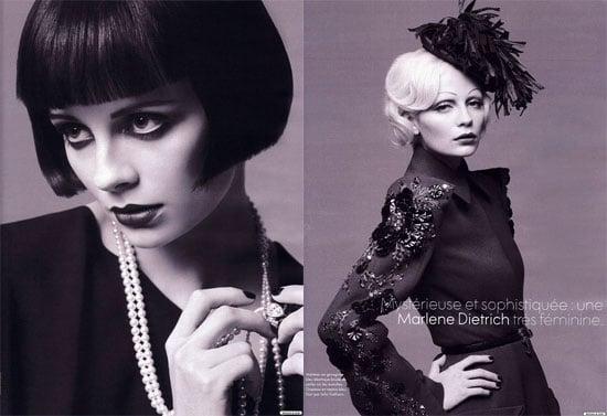 Mischa Keeps It Together & Glamorous for Elle