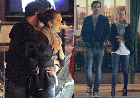 Photos of Jessica Alba and Cash Warren Hugging in LA