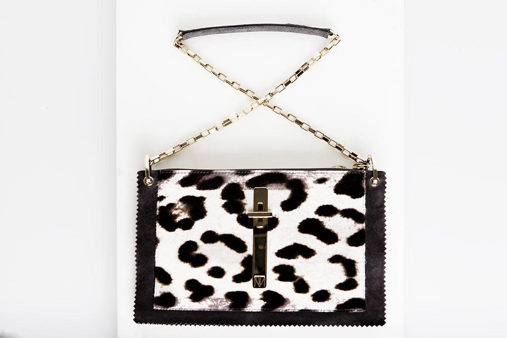 Attraction Pony Shoulder Bag in Leopard ($1,995) Photo courtesy of Tamara Mellon