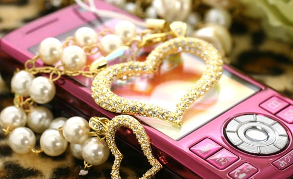 Jewelry Trinkets For Your Cell Phone