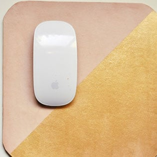 Pretty Leather Mouse Pads