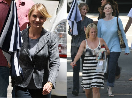 Photos of Cameron Diaz Back At Work On My Sister's Keeper