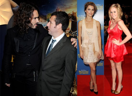 Photos Of Adam Sandler, Russell Brand, Diana Vickers, Keri Russell At Bedtime Stories Premiere In London