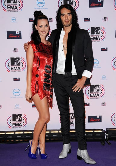 First Pictures of Russell Brand and Katy Perry After Honeymoon at MTV EMAs 2010-11-07 11:35:28