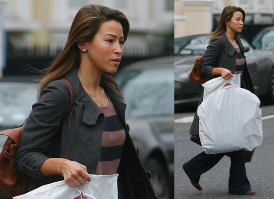 Photos of Rachel Stevens After the Strictly Come Dancing Final