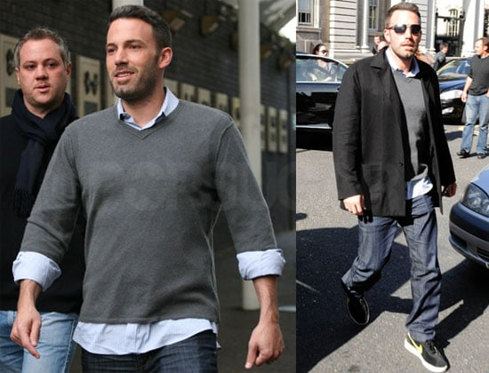 Pictures of Ben Affleck in Ireland For The Town