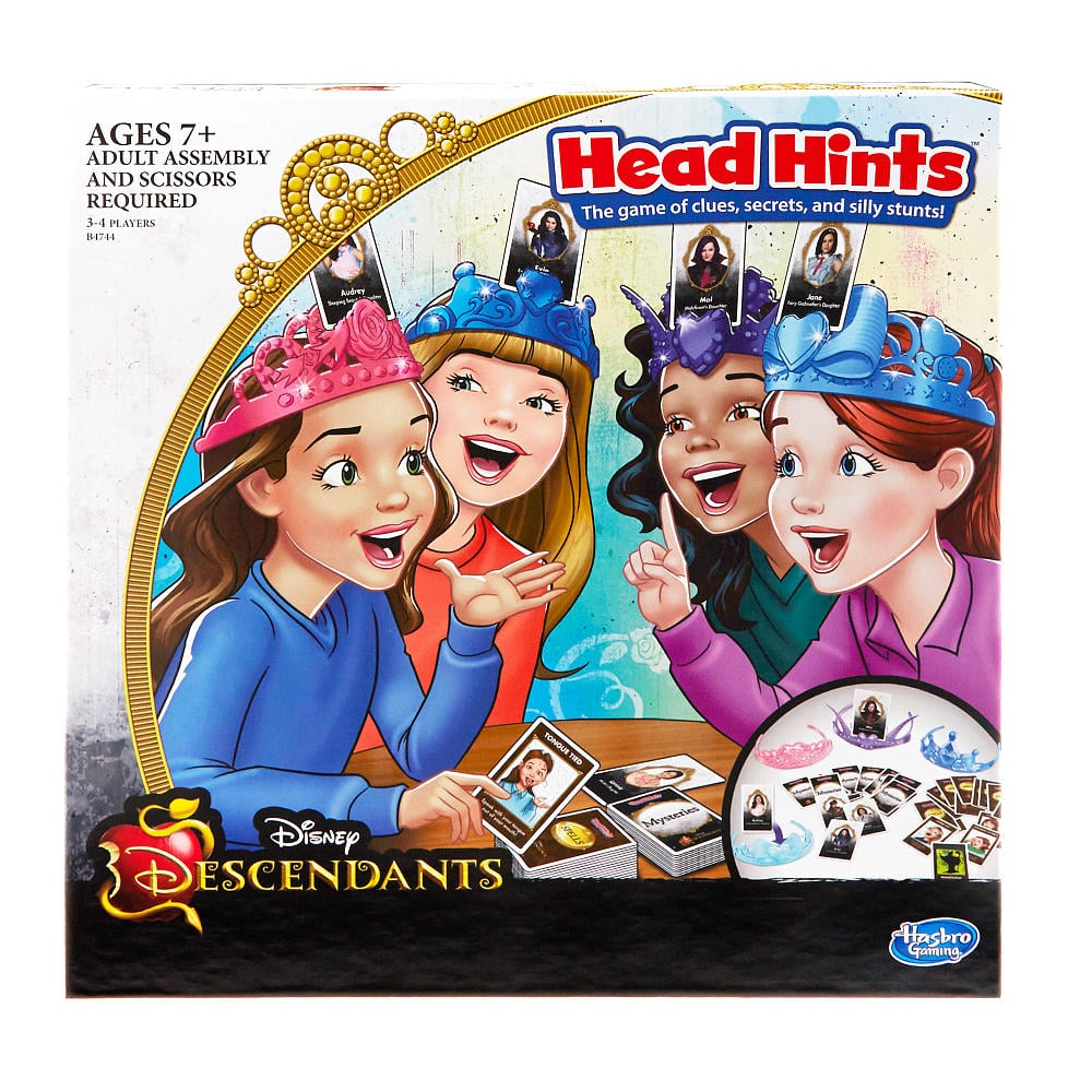 For 7-Year-Olds: Disney Descendants Head Hints Game