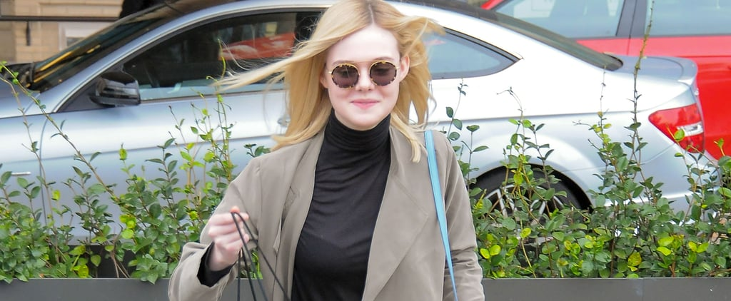 """Elle Fanning Is Carrying the It Bag You'll Instantly Want to """"Add to Cart"""""""