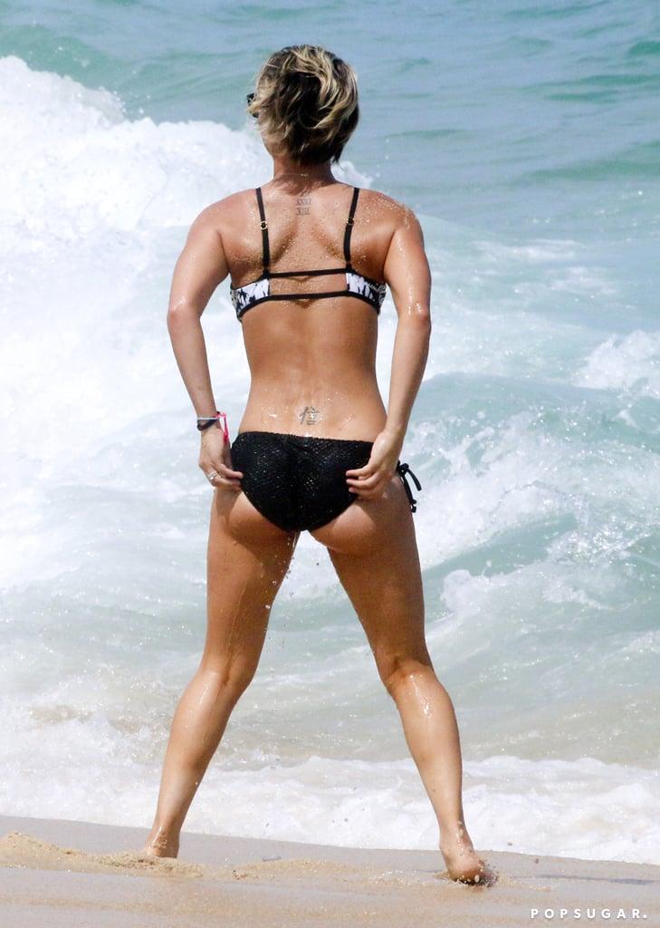 Kaley Cuoco Flaunts Her Bikini Body South of the Border