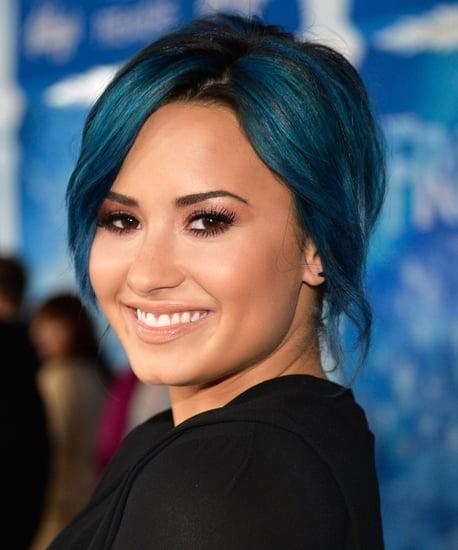 Love It or Leave It? Demi Lovato's Jewel-Toned Hair