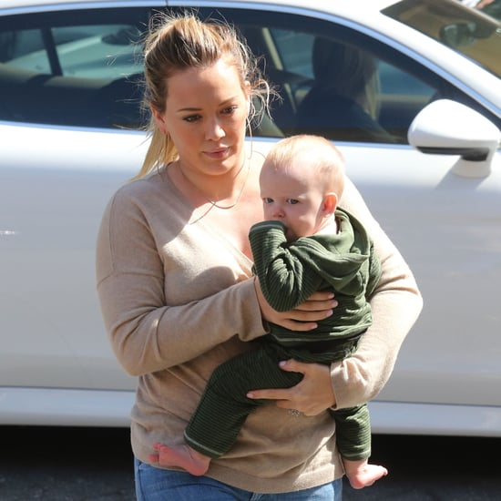 Hilary Duff and Luca Comrie Shopping in LA | Pictures