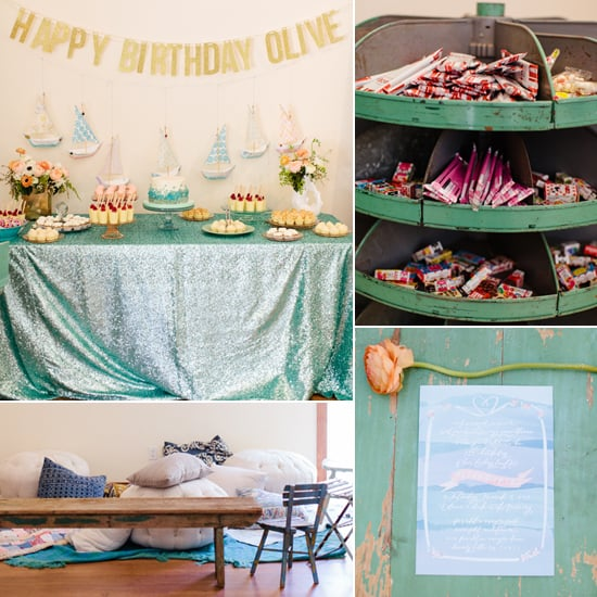 A Dreamy Under-the-Sea Birthday Party