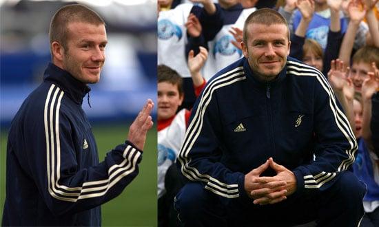 David Beckham celebrates the 2nd year anniversary of The David Beckham Academy