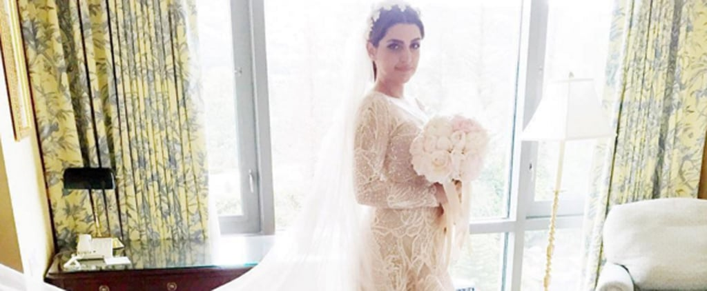 This Bride's Elie Saab Wedding Gown Was Made For the Dance Floor