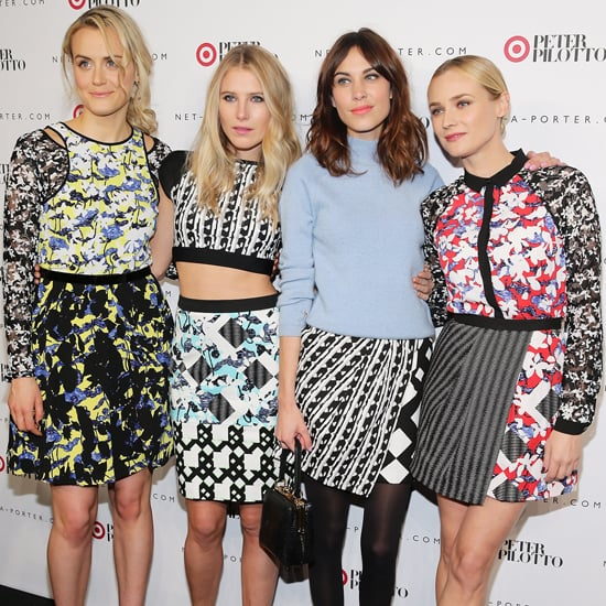 Celebrity Style Peter Pilotto For Target Launch: Alexa Chung