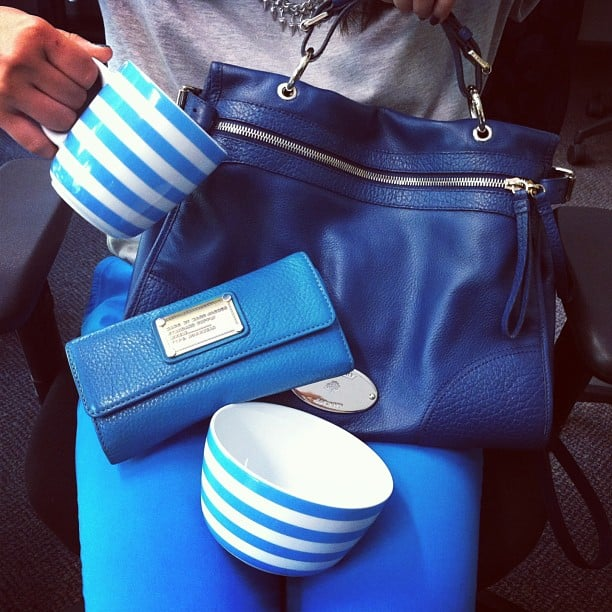 Can you guess which colour is Jess' favourite? 50 shades of blue seems too easy a pun.