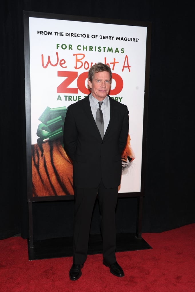 Thomas Haden Church walked the red carpet at the premiere of We Bought a Zoo.