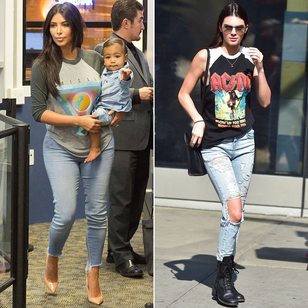 Who Wore a Graphic Tee Better?