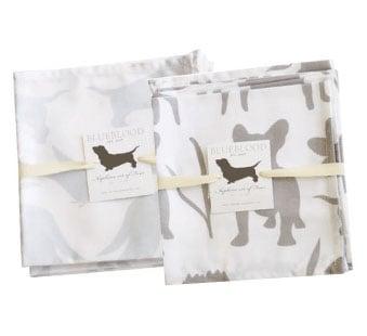 Blueblood Pups Towels and Punta Mita Pattern