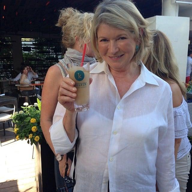 Even Martha Stewart Enjoyed a Cocktail