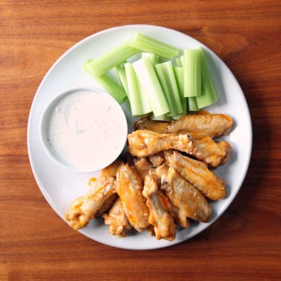 Baked Buffalo Chicken Wings Recipe