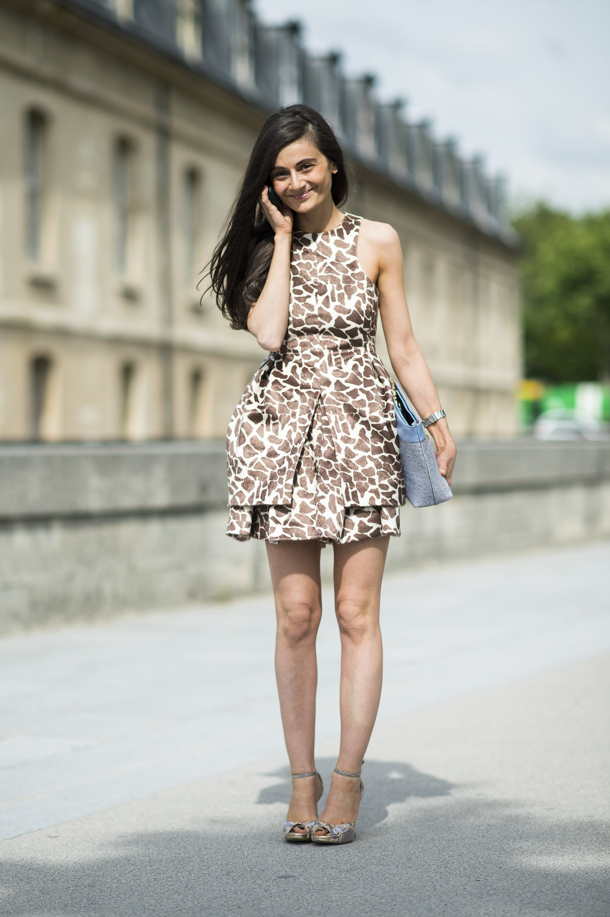 Animal print, executed with a sophisticated edge. Source: Le 21ème | Adam Katz Sinding