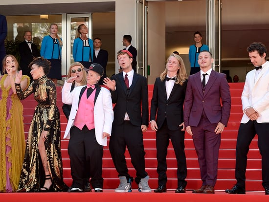 American Honey Cast Starts a Dance Party on the Cannes Red Carpet - and Kristen Stewart Joins In!