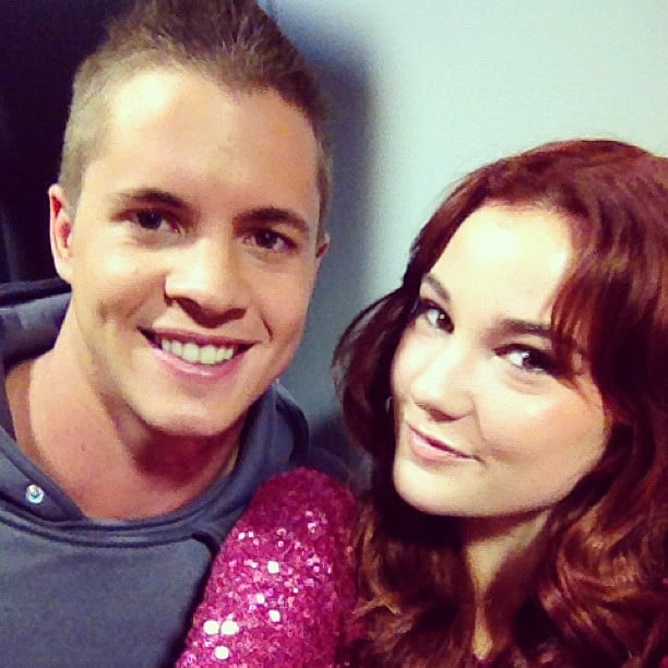 Johnny Ruffo and Bella Ferraro got together for a close-up. Source: Instagram user isabella_ferraro