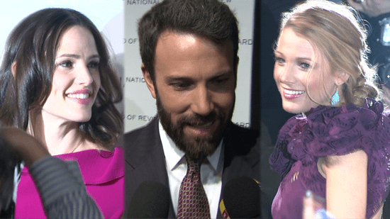 Video of Ben Affleck, Jennifer Garner, and Blake Lively at the National Board of Review of Motion Picture Gala