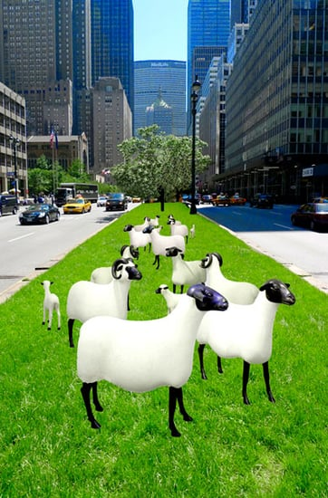 First Ever, Large-Scale Outdoor Exhibiton of Claude and Francois-Xavier Lalanne's Sculptures to Debut on Park Avenue