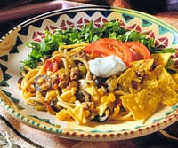Fast & Easy Dinner: Taco Spaghetti