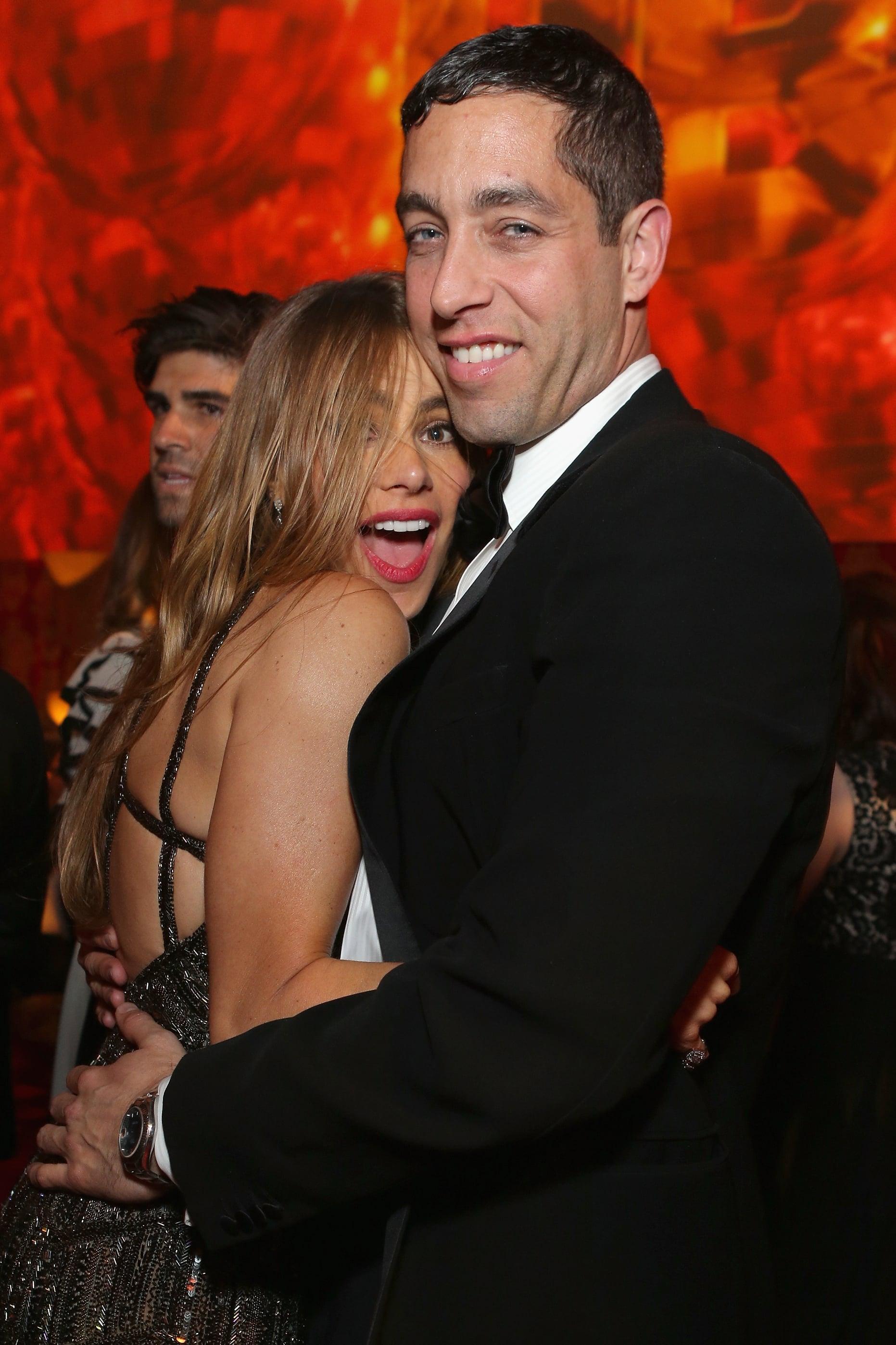 Sofia Vergara partied with Nicholas Loeb.