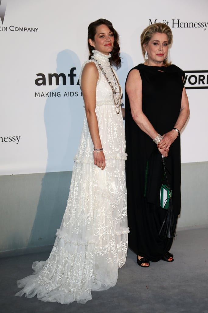 Marion Cotillard posed with Catherine Deneuve.