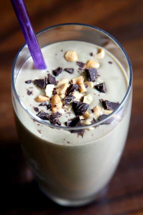 Chocolate Peanut Butter PMS Smoothie