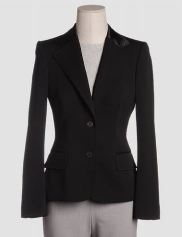 The Look For Less: Dolce & Gabbana Black Blazer
