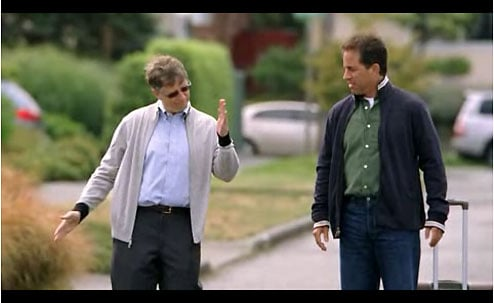 Daily Tech: Second Seinfeld/Gates Ad, Much Funnier Than the First