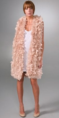 Haute Hippie Elongated Feather Vest: Love It or Hate It?