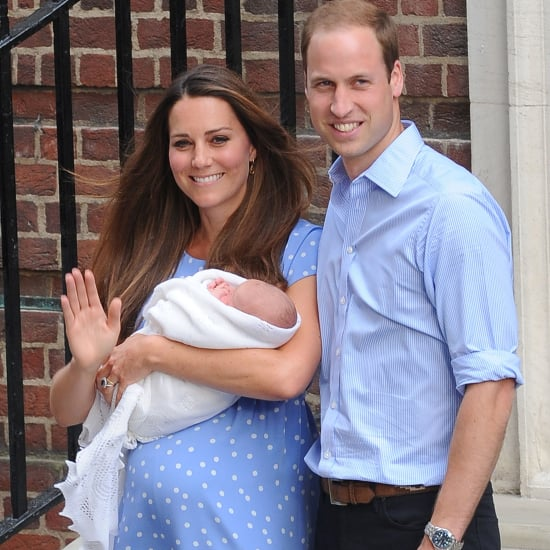 Kate Middleton Leaves Hospital With New Baby in Blue Dress