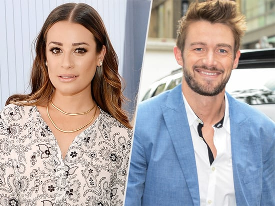 Well This Gig's Handy! Lea Michele and Boyfriend/Costar Robert Buckley Show Off Cute PDA on Set