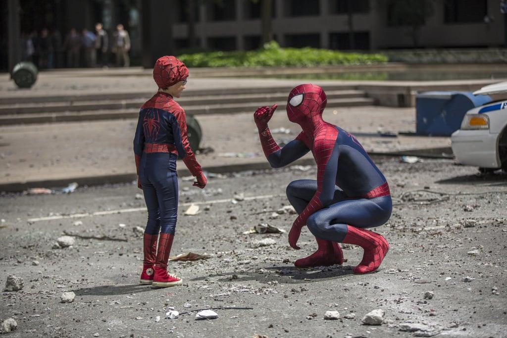 Tiny Spider-Man!