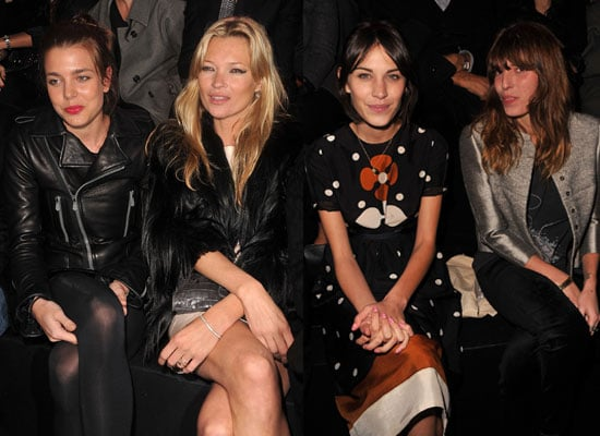 Pictures of Kate Moss, Alexa Chung and More at Paris Fashion Week Haute Couture