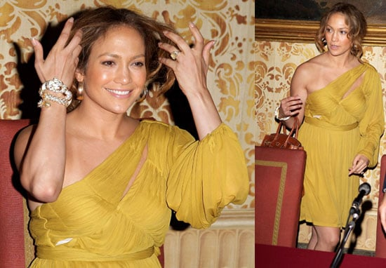 Photos Jennifer Lopez and Marc Anthony as He Is Awarded by the Milan Town Council