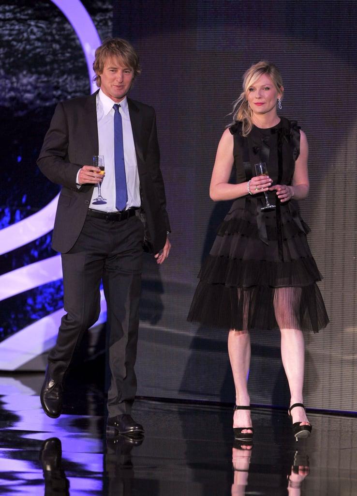 Owen Wilson and Kirsten Dunst