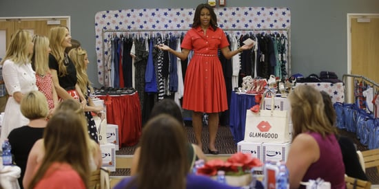 Michelle Obama Surprises Military Moms-To-Be With A Stylish Baby Shower