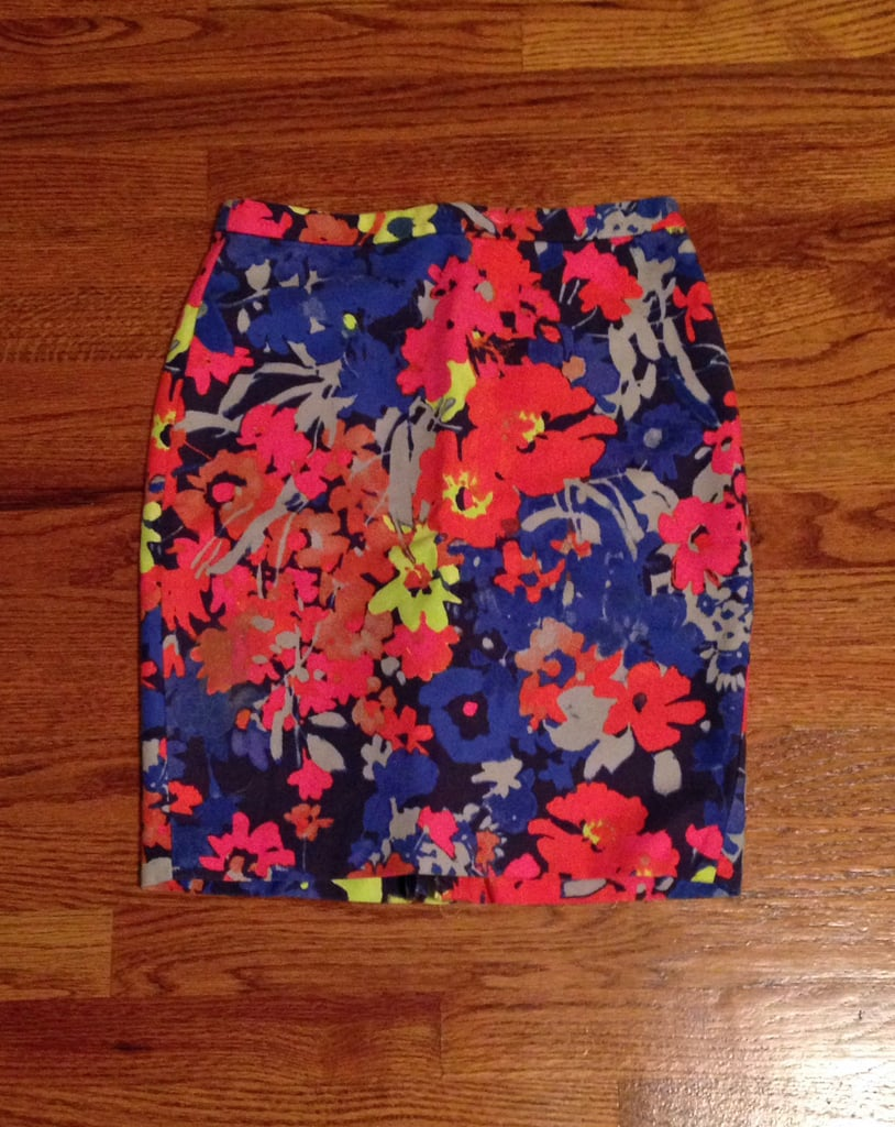 My Floral Pencil Skirt