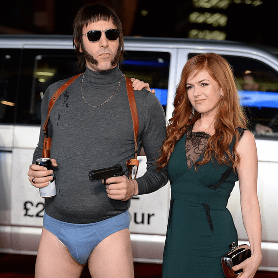 Sacha Baron Cohen Isla Fisher Grimsby Red Carpet 2016