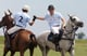 Prince Harry and a friend shared a high five while playing in the Sentebale Royal Salute Polo Cup in March of 2012 in Sao Paulo, Brazil.
