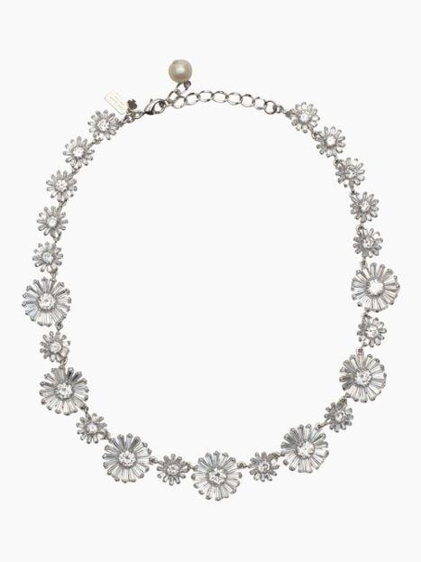 Kate Spade New York Crystal Gardens Collar Necklace ($129, originally $398)