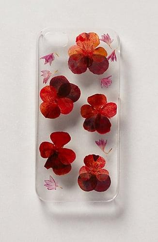 Pressed Viola iPhone 5 Case